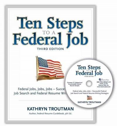 Ten Steps to a Federal Job Federal Jobs, Jobs, Jobs - Successful - federal resumes