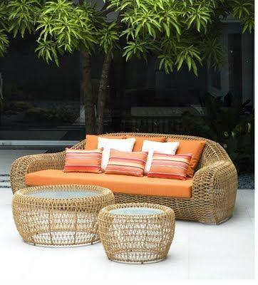 beachbungalow8 Outdoor Living Pinterest Outdoor living, House - designer gartenmobel kenneth cobonpue