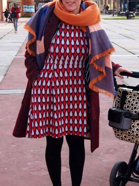 Robe Gerda de La Maison Victor | Hecho con el CoseConmigo de www.cosercosas.es | Hecho por Maider de Masustak Eguzkitan