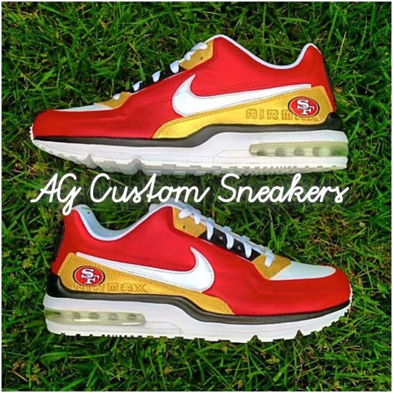 Custom San Francisco 49ers Nike Air Max by AGcustomSneakers