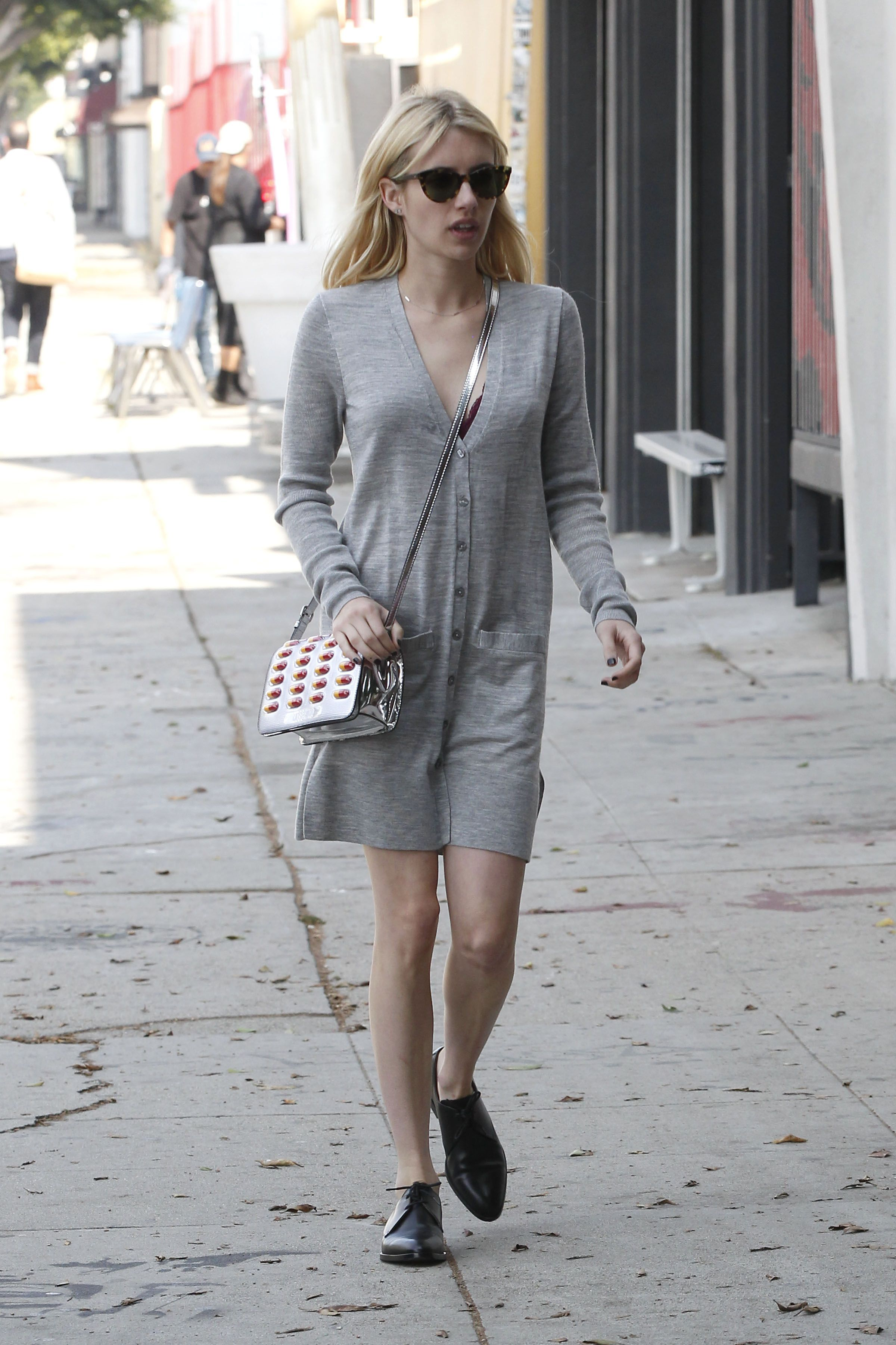 Emma Roberts - Out shopping in Los Angeles 10/13/16