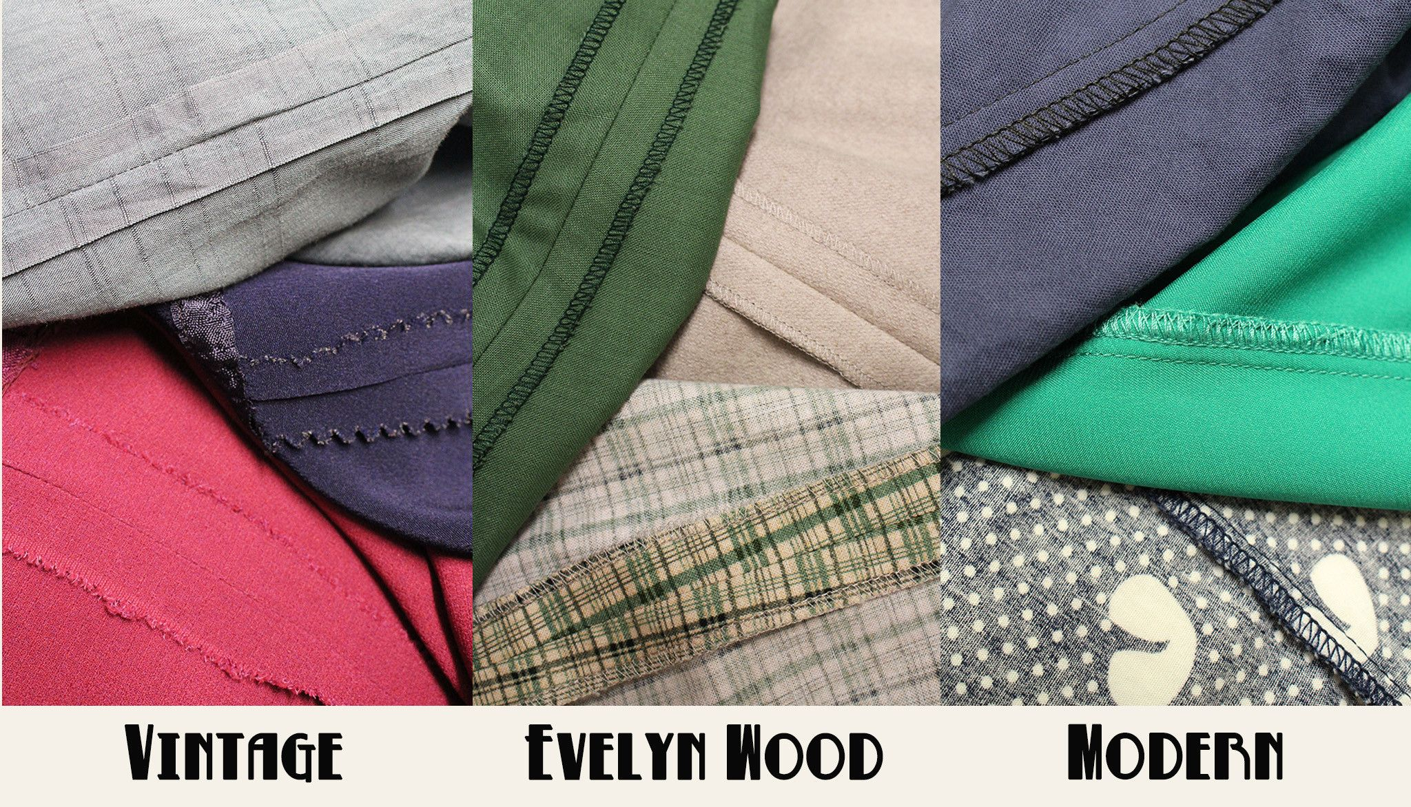 Everything You Thought Vintage Reproduction Clothing Should Be - Evelyn Wood. What was different about vintage clothes making