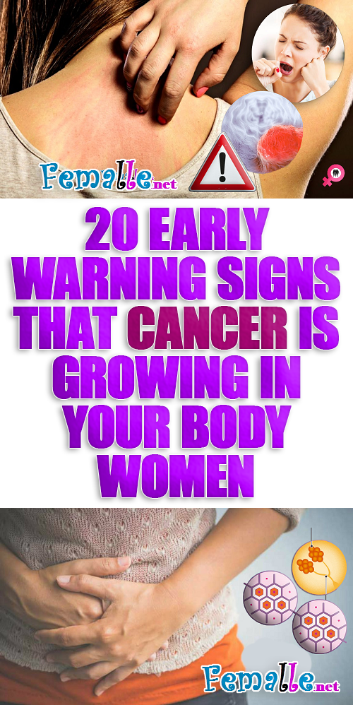 Women signs in lung of cancer 9 Symptoms