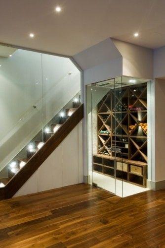 Contemporary Basement By Urban Cape Con Immagini Idee Bar