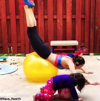 Get a ton of inspiration from these fit super mom's who can really do it all! #Workout #Fitness