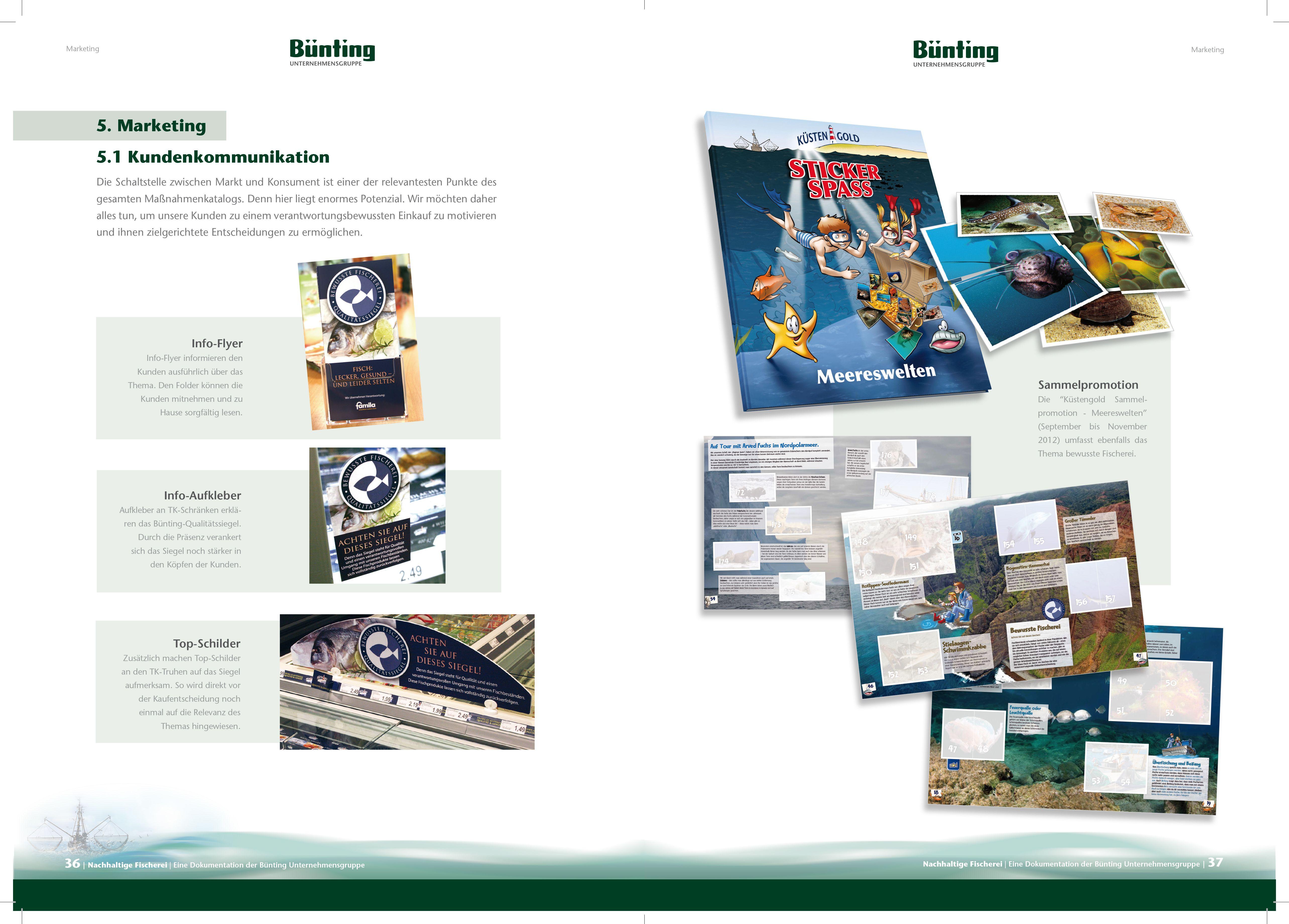 © designstuuv.de  Innenseite Bünting Fisch- und Fang Broschüre