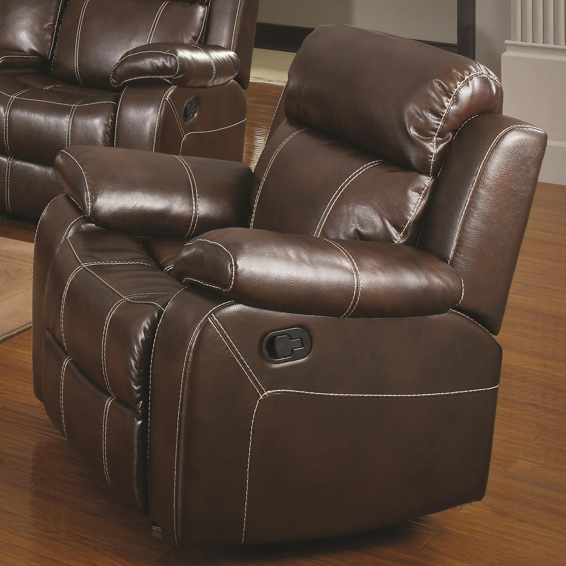 Chair Pillow With Arms - Leather recliner with pillow arms