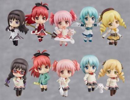 Nendoroid Petite: Puella Magi Madoka Magica Trading Figures (Display of 12)