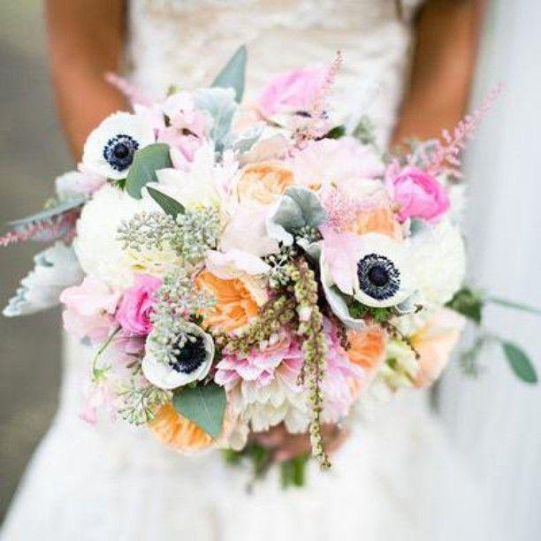 #Rubyhillweddings is in love with this bouquet. @weddingwire: Anemones anyone?  #bouquet #weddingwire {Photo: @mark_davidson; Floral Design: @poppyfloraldesigns} -