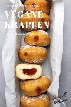 Vegane Krapfen oder Berliner #donutcake