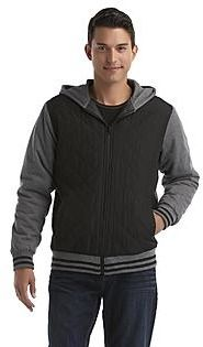 33ff53175f51 Route 66 Men s Quilted Hoodie Jacket - Clothing - Young Men s - Activewear