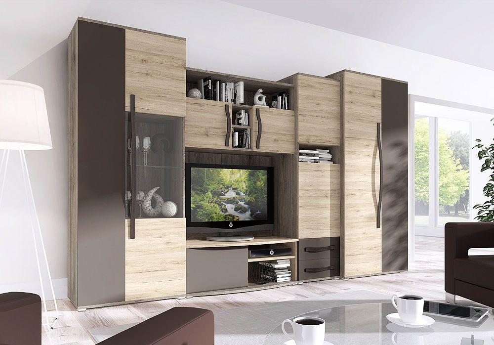 anbauwand ebay. Black Bedroom Furniture Sets. Home Design Ideas