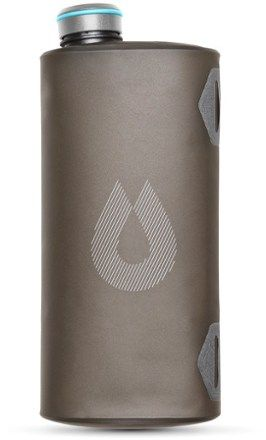 Hydrapak Seeker 2L Collapsible Water Container - 2 Liters Mammoth Grey
