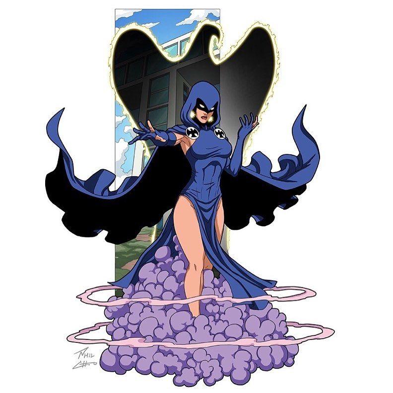 Raven Commissioned By Kenn Hensley Raven Rachelroth Commission Dccomics Teentitans Artistsoninstagram In 2020 Dc Comics Wallpaper Dc Comics Art Raven Comics