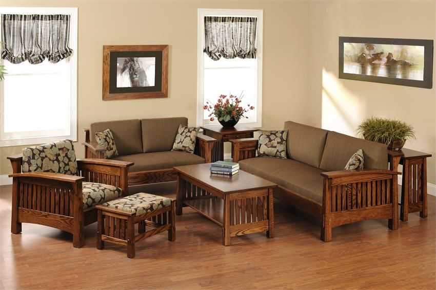 Amish Countryside Mission End Table Wooden Sofa Designs Wooden Living Room Furniture Wooden Living Room