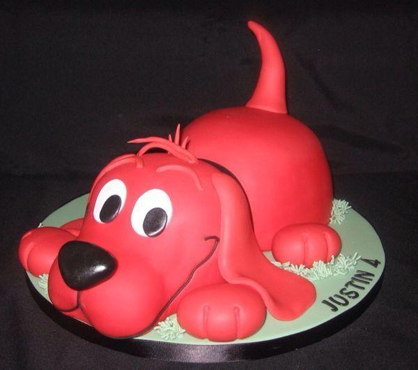 Clifford By Allcupcakedout Sweet Cakes Pinterest Cake Cake