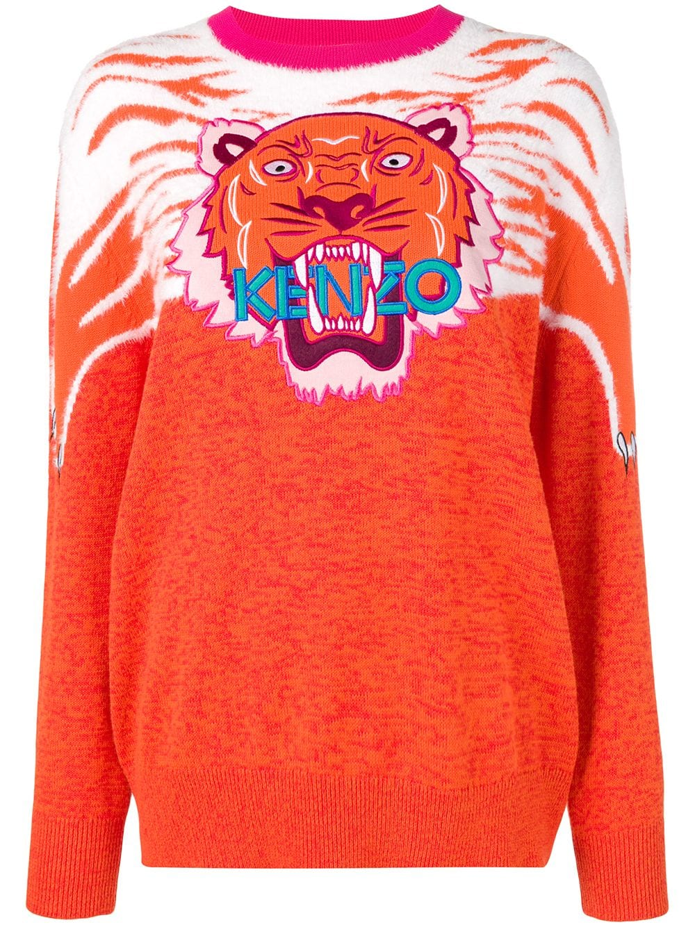 d829871001 KENZO TIGER CLAW COTTON-BLEND JUMPER. #kenzo #cloth | Kenzo in 2019 ...
