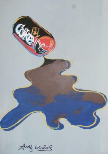 Original Pop Art Painting Signed Andy Warhol   Pop art ...