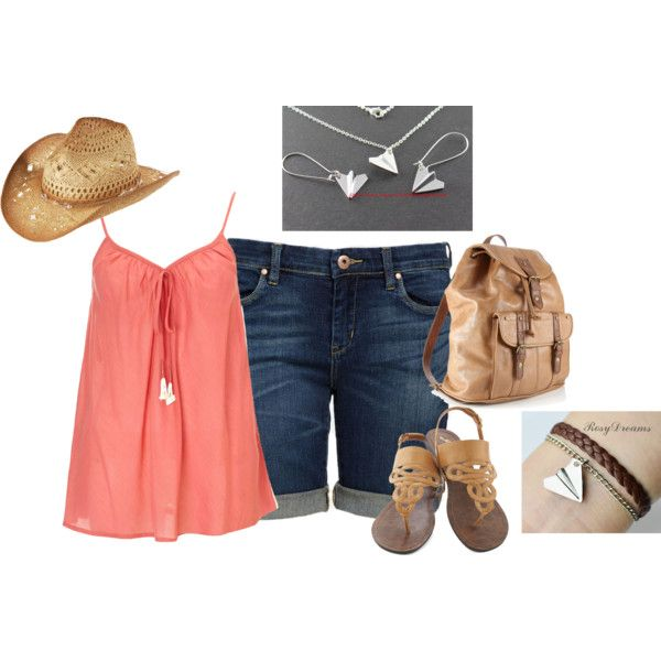 Country Airplane Outfit by hread on Polyvore
