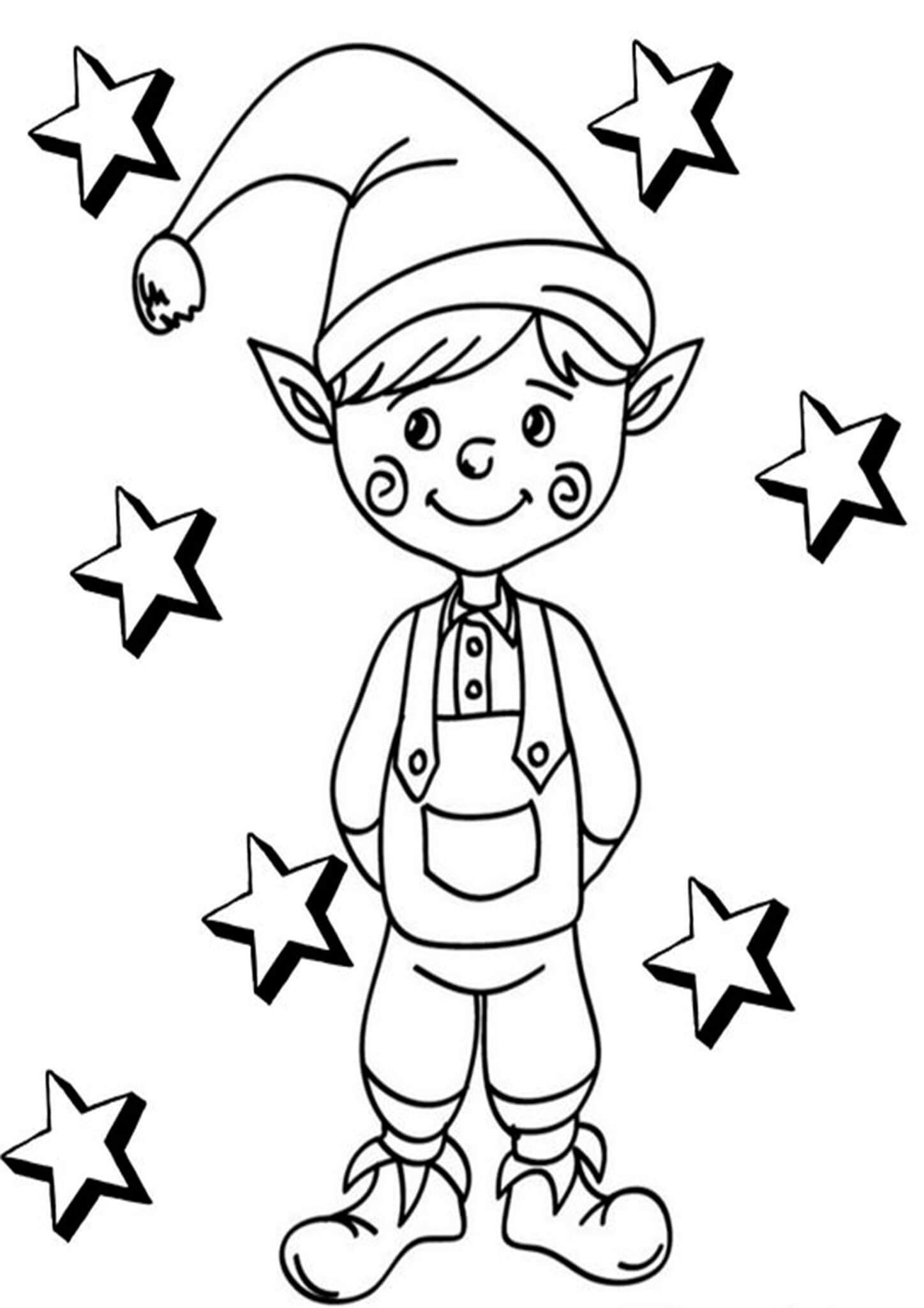 Free Easy To Print Elf Coloring Pages Coloring Pages Christmas Coloring Pages Valentines Day Coloring Page
