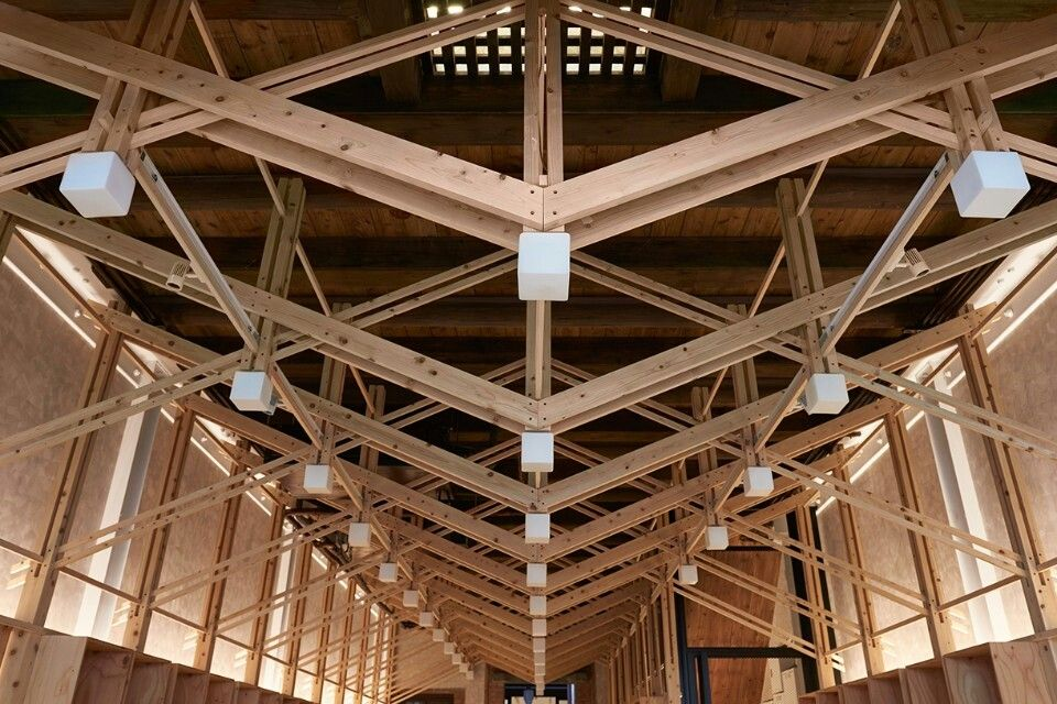 Pin By Allie Beck On Interiordesign Roof Truss Design Wood Architecture Steel Trusses