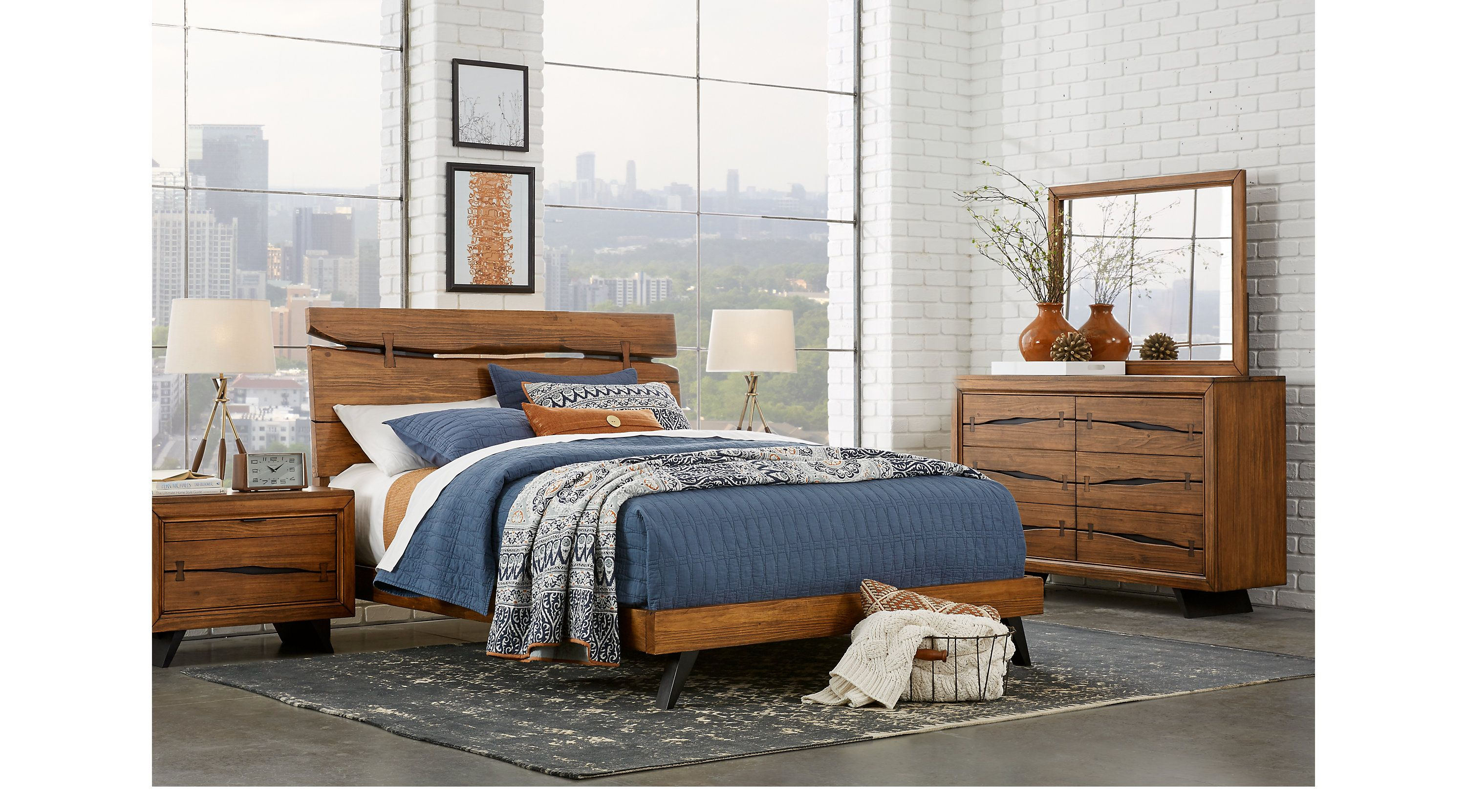 Dana Point Brown 5 Pc Queen Panel Bedroom in 2019 | King ...