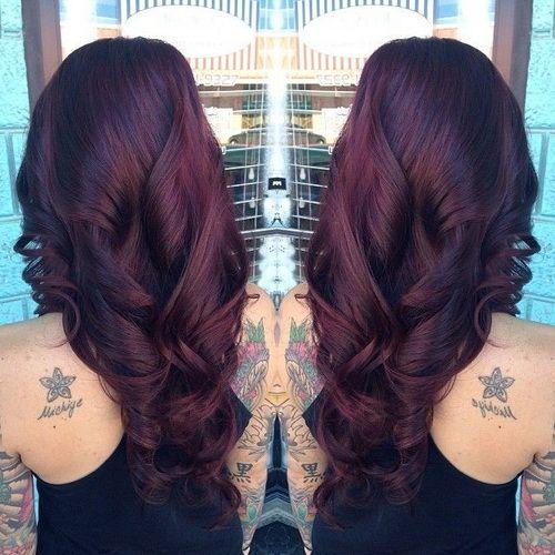 Hair Color Garnier Black Cherry Results With Blonde Highlights Pinterest Formula 20 Wonderful Images Concept Nutrisse