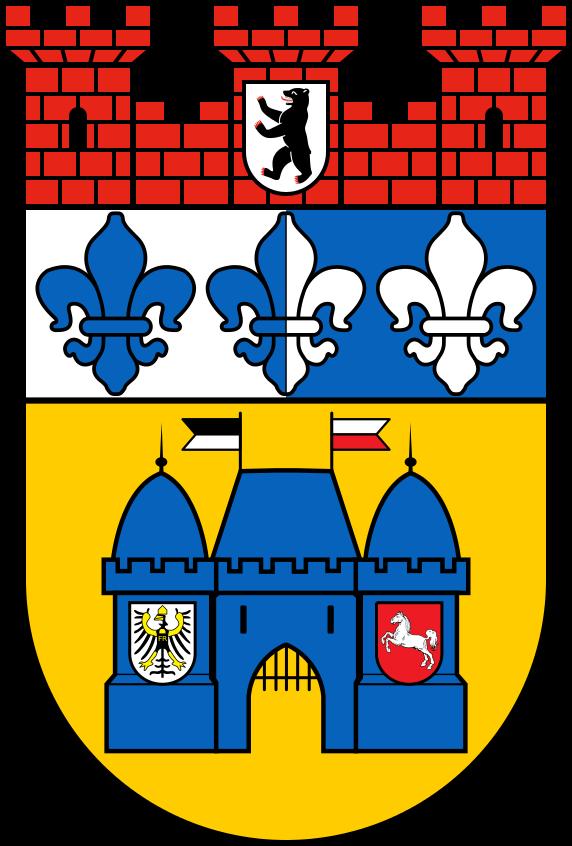 Charlottenburg Wilmersdorf Wappen Seit 2001 Wappen Familienwappen Emblem