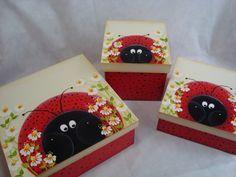 Caixas de Joaninha - Ladybug Boxes