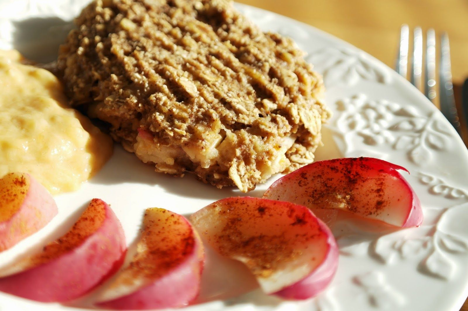 Apple Pie morning pattie
