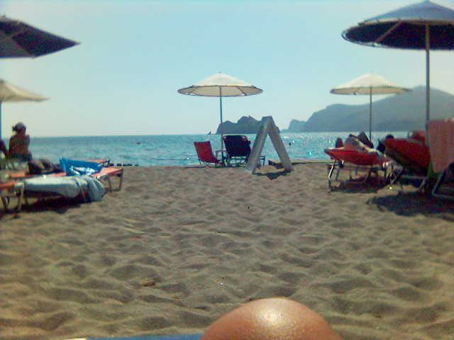 Thanos beach in Lemnos-Greece