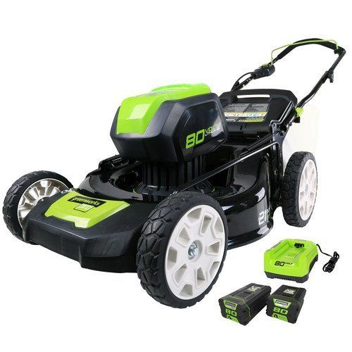 Special Offers Cheap Greenworks 2500402 80v Cordless Lithium Ion 21 In 3 In 1 Lawn Mower Kit In Stock Free Shipping You Can Save More Money Check It S