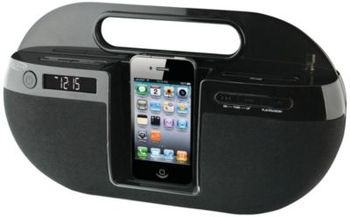 iLive iPod iPhone FM Boombox  in Spring Big Book Pt 1 from Fingerhut on shop.CatalogSpree.com, my personal digital mall.