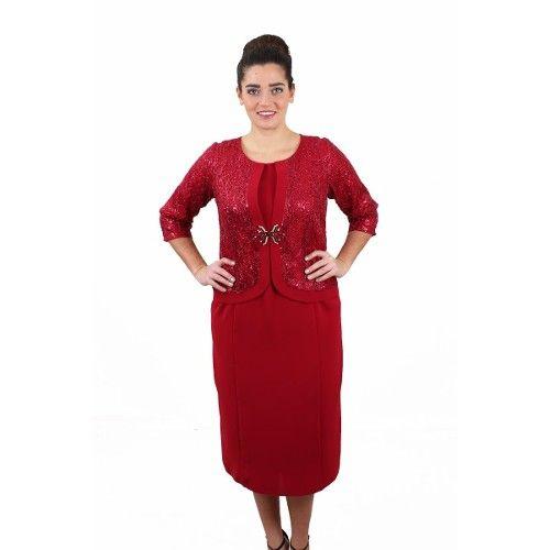 Gzn Buyuk Beden Takim Gorunumlu Krep Elbise 224 Elbise Kiyafet Giyim