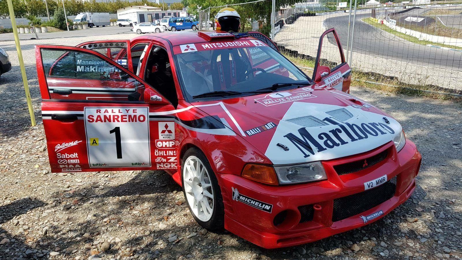 Pin De Franco Calzolari En Mitsubishi Evo 6 Coche De Rally Rally Autos