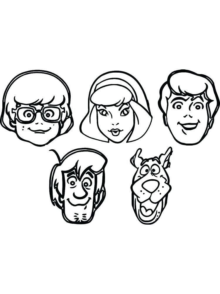 Free Printable Scooby Doo Coloring Pages Scooby Doo Coloring Pages Printable Free Downloadable Scooby Doo Coloring Pages Cartoon Coloring Pages Coloring Pages