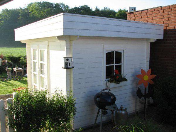 Gartenhaus mit Flachdach von Gartenhaus nach Mass | Gartenhaus mit ...