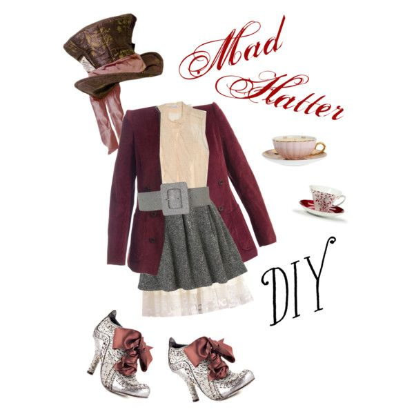 """""""DIY Mad Hatter"""" By Jenniepie On Polyvore"""