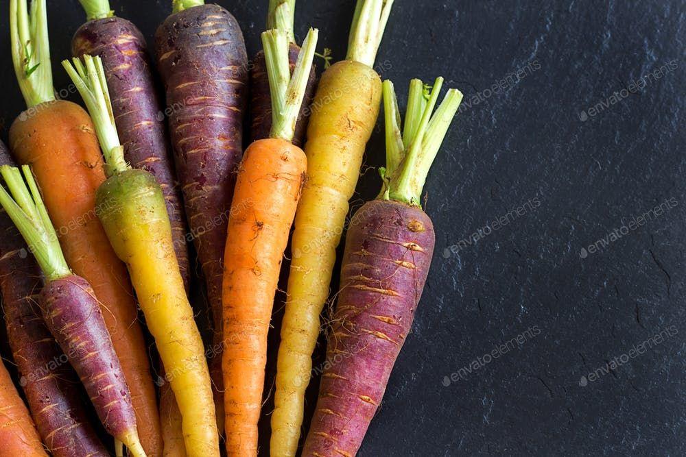 Fresh Organic Rainbow Carrots By Katrinshine鈥檚 Photos Ad Ad Organic Fresh Carrots Rainb Stroke Prevention Stroke Recovery Rainbow Carrots