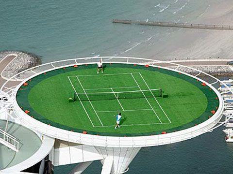 Дубай отель теннис рост цен недвижимость дубай