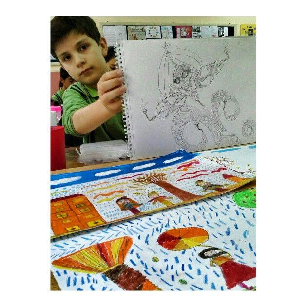 #Structure #Art #Artist #Work #Student #Doodle #color #Class #AnArtTeacher #Autumn
