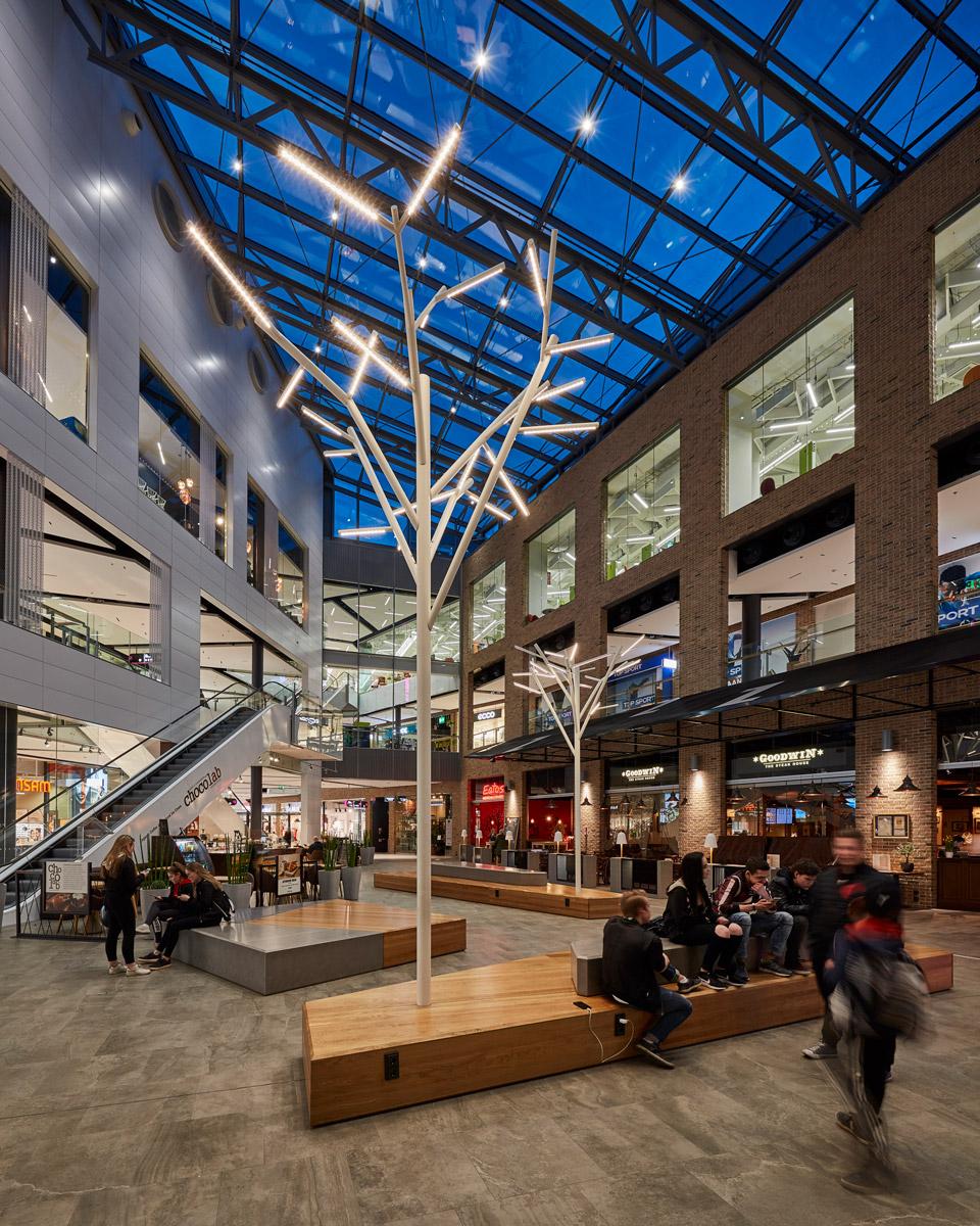 The Iso Omena Shopping Centre iGuzzini in 2020