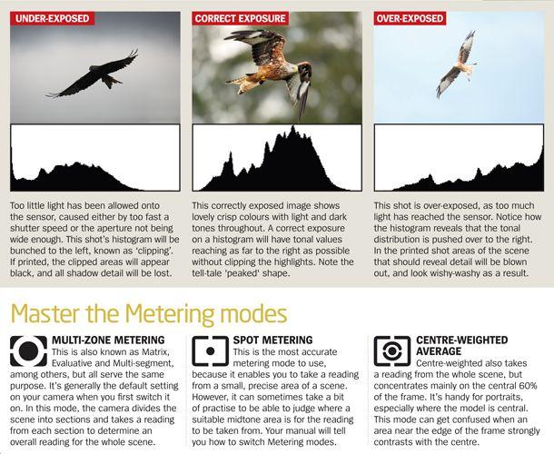Digital camera tips: choosing the right metering modes
