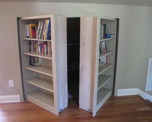 Double Secret Bookshelf Doors To Attic Bookcase Door Hidden Door Bookcase Bookshelf Door