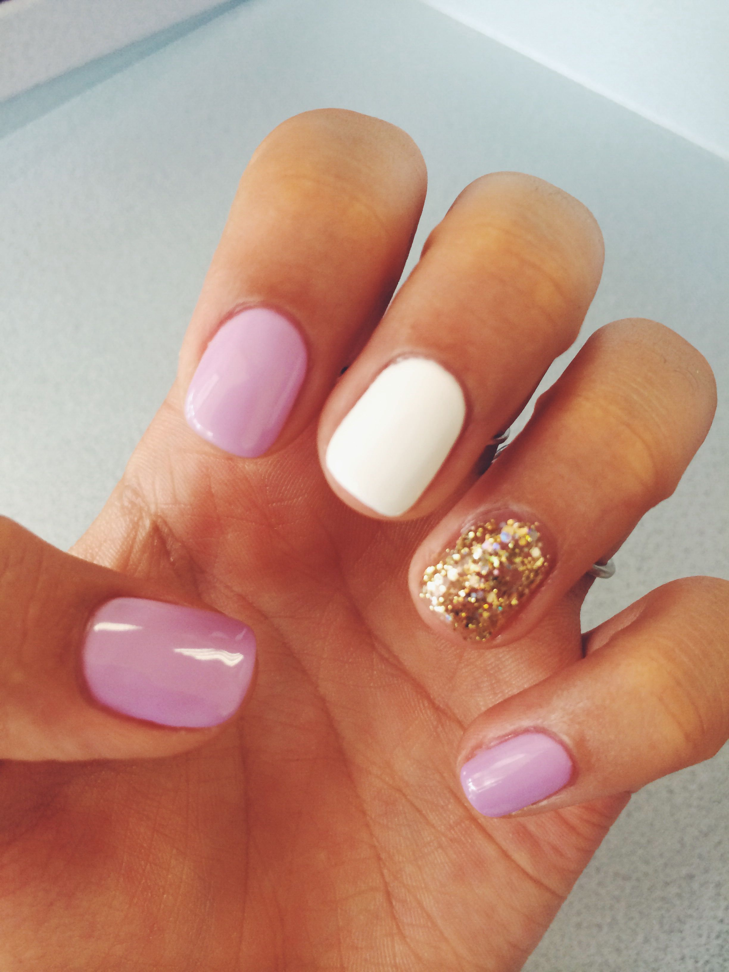 Color gel nails in pinterest nails nail designs and