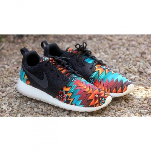 "721a79599dafb Nike Roshe Run ""Aztec"" Customs by Profound Product"