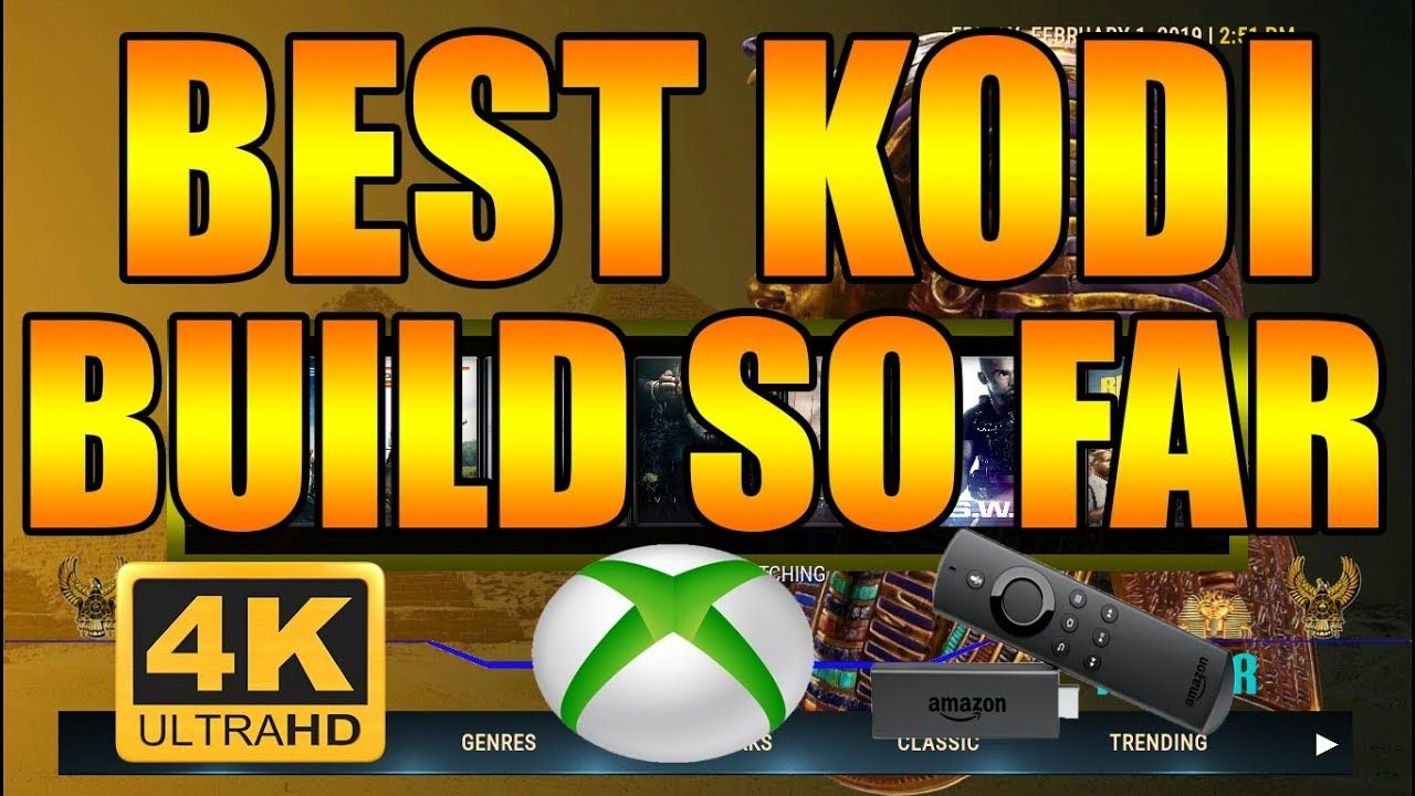 BEST KODI BUILD SO FAR 🔥 KODI 18 ON XBOX ONE & AMAZON FIRE