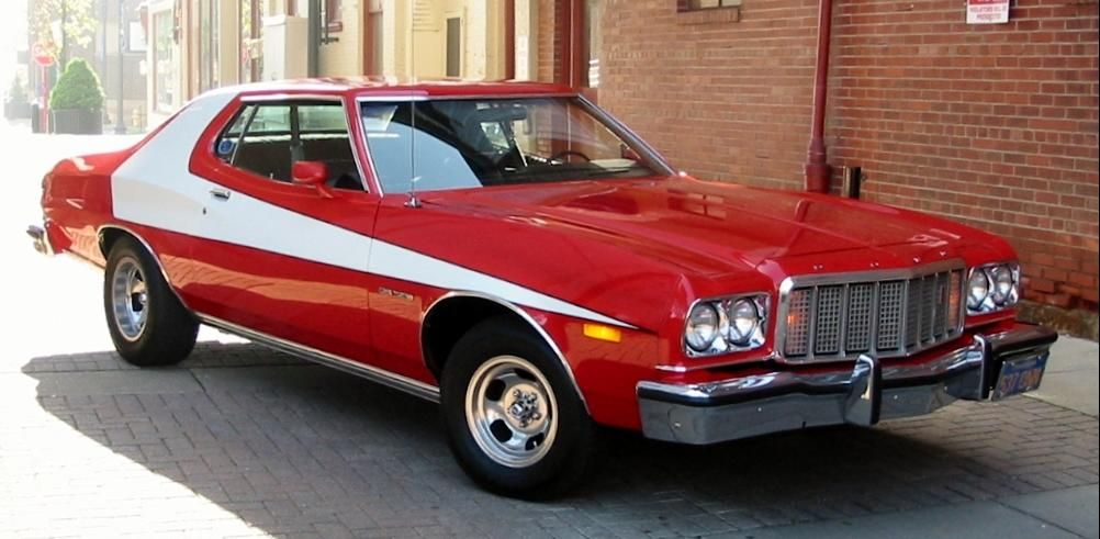 1976 Ford Gran Torino    Why,I became a Cop!   | d | Ford