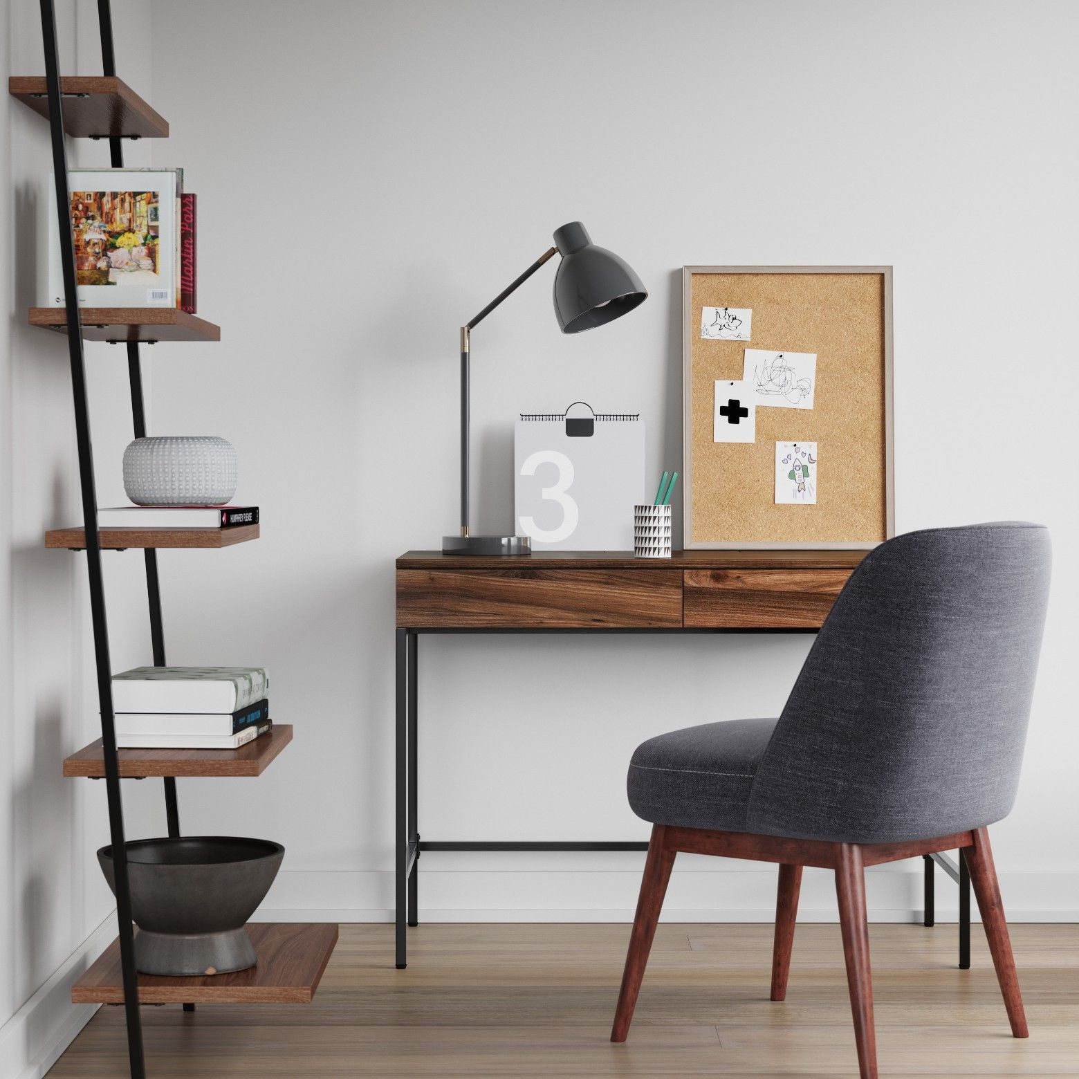 Project 62 Loring Writing Desk | Surface area, Contemporary style ...