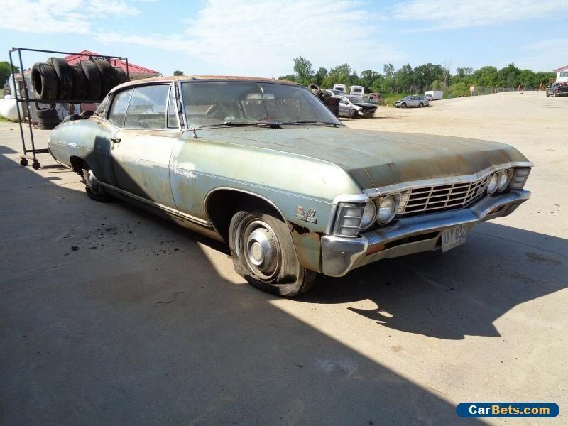 1967 Chevrolet Caprice Chevrolet Caprice Forsale Canada